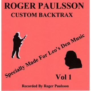 BACKING TRACK CD - ROGER PAULSSON - ROGER PAULSSON CUSTOM BACKTRAX