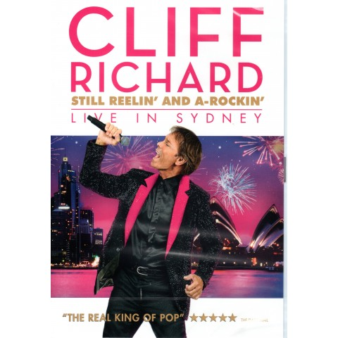 "CLIFF RICHARD -  ""STILL REELIN' AND A-ROCKIN' – LIVE IN SYDNEY"" - DVD"
