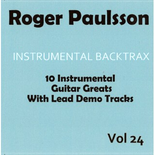 ROGER PAULSSON - DANSBANDSLATAR - BACKING TRACK CD