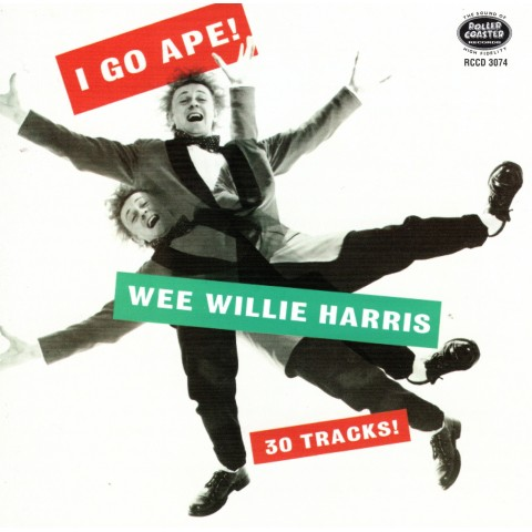WEE WILLIE HARRIS - I GO APE - CD