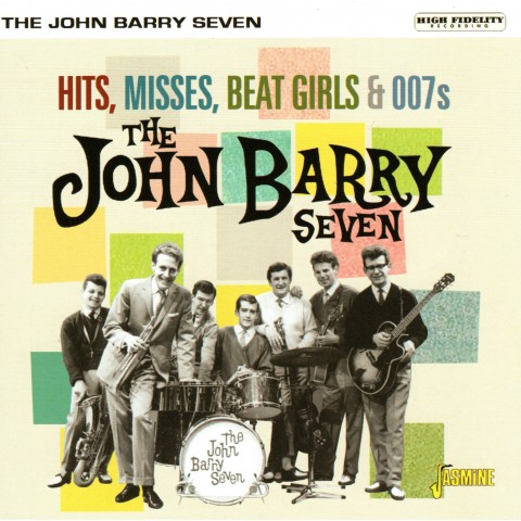 JOHN BARRY SEVEN - HITS,  MISSES, BEATGIRLS & 007s - CD