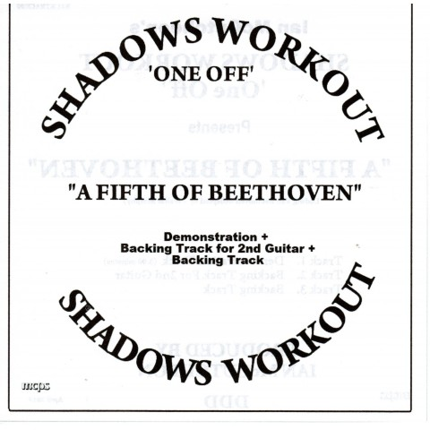 IAN MCCUTCHEON - A FIFTH OF BEETHOVEN - 3 TRACK BACKING TRACK - CD