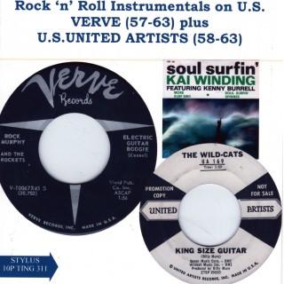 VERVE/UNITED ARTISTS USA LABELS - STYLUS - CD