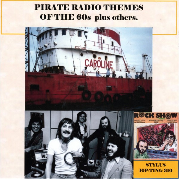 PIRATE RADIO THEMES OF THE 60'S PLUS OTHERS - STYLUS CD