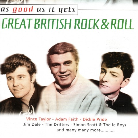 AS GOOD AS IT GETS - GREAT BRITISH ROCK N ROLL - 2CD