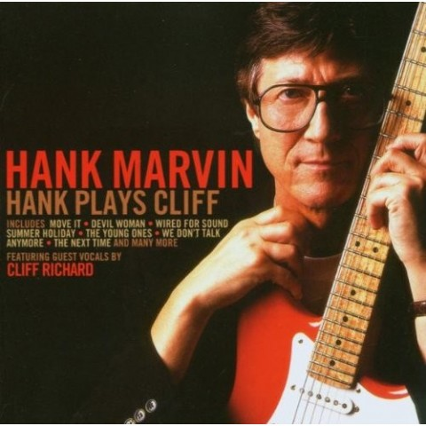 HANK MARVIN - HANK PLAYS CLIFF - CD