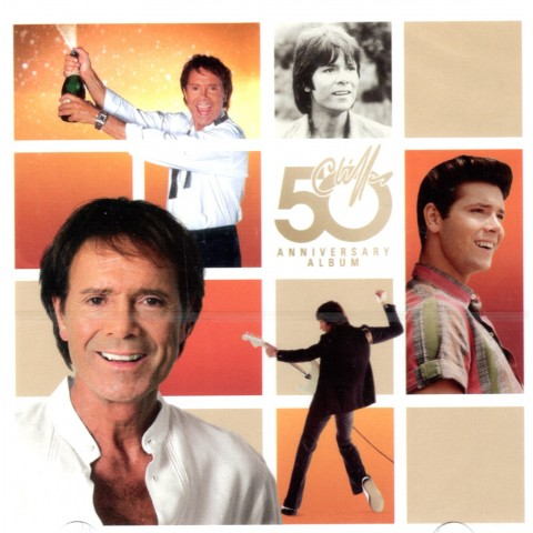 CLIFF RICHARD - 50TH ANNIVERSARY - 2CD