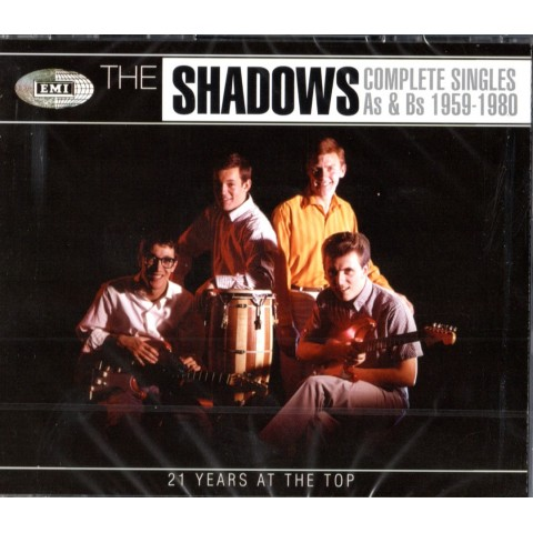 THE SHADOWS - COMPLETE A's & B's (21 YEARS AT THE TOP) - 4 CD