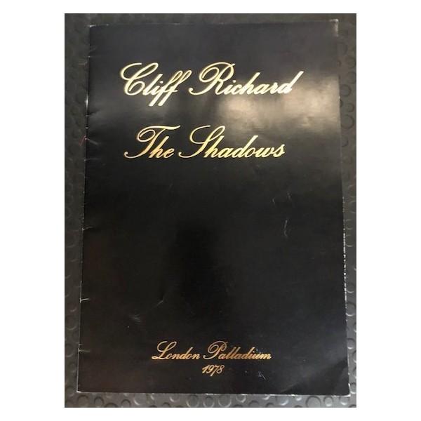 CLIFF RICHARD & THE SHADOWS LONDON PALLADIUM 1978