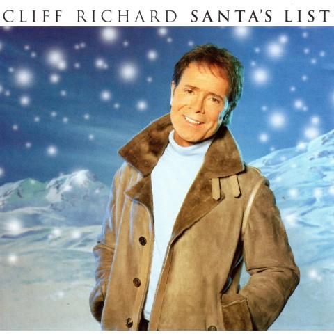 CLIFF RICHARD - SANTA'S LIST - CD SINGLE PT 1