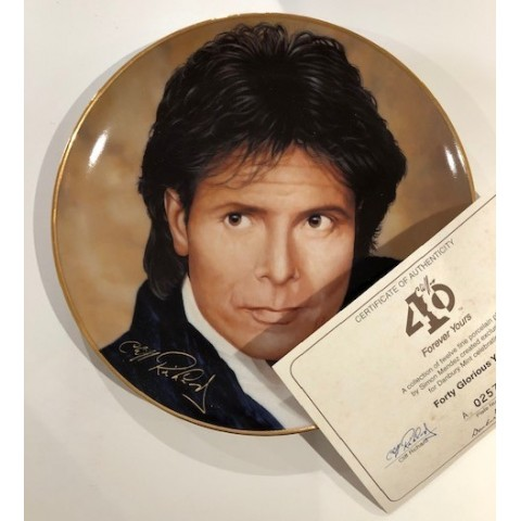 CLIFF RICHARD - FOREVER YOURS - PLATE