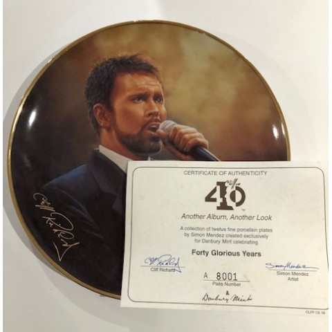 CLIFF RICHARD -  ANOTHER ALBUM ANOTHER LOOK - PLATE