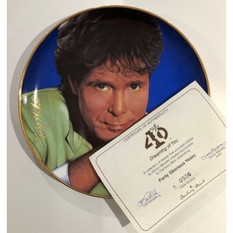 CLIFF RICHARD -  DREAMING OF YOU - PLATE