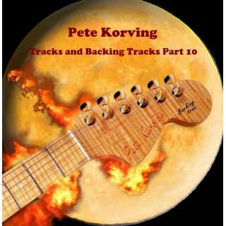 PETE KORVING - BACKING TRACK VOLUME 10 - IMPORT CD