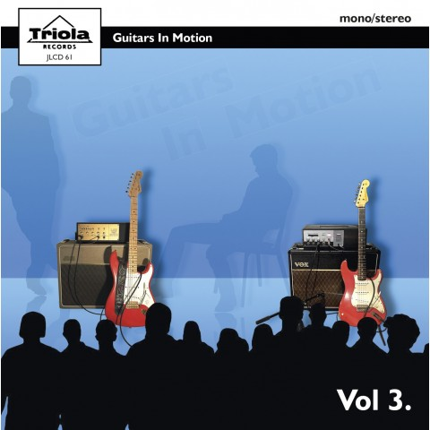 GUITARS IN MOTION VOL 3 - CD IMPORT