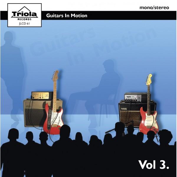 GUITARS IN MOTION VOL 3 - CD IMPORT
