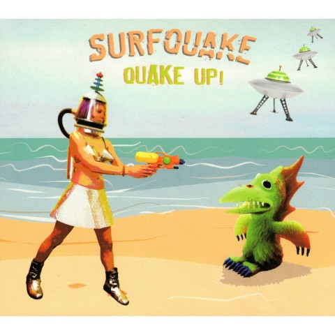 SURF QUAKE - QUAKE UP - CD