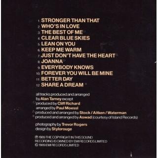 CD - CLIFF RICHARD - STRONGER (The Original 1989)