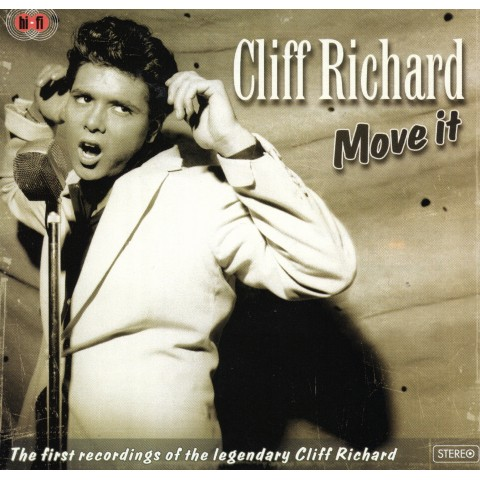 CLIFF RICHARD (WITH DRIFTERS/SHADOWS) - MOVE IT - CD