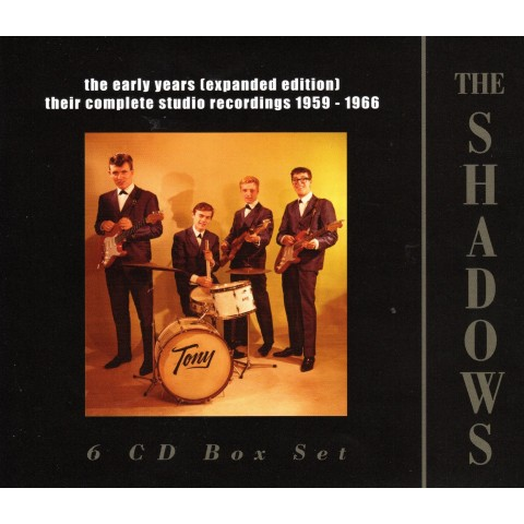 "THE SHADOWS ""THE EARLY YEARS"" (EXPANDED EDITION) - 6 CD"