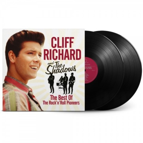 CLIFF RICHARD AND THE SHADOWS - BEST OF ROCK N ROLL PIONEERS - LP VINYL
