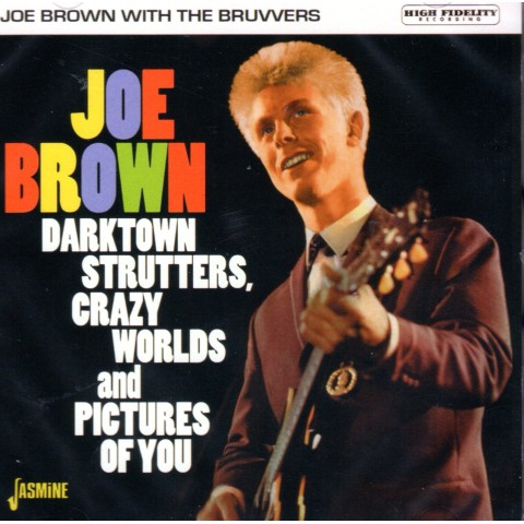 JOE BROWN - DARKTOWN STRUTTERS, CRAZY WORLDS.. - CD
