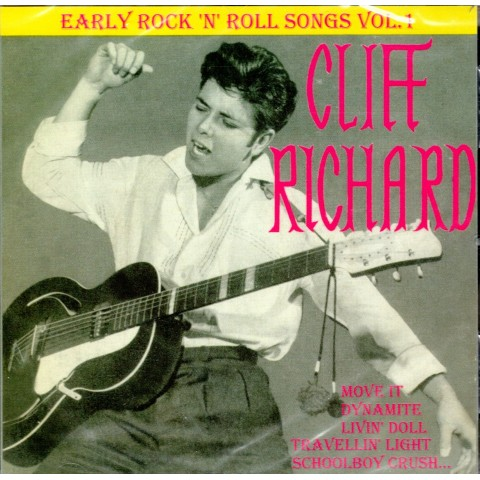 CLIFF RICHARD (with The Shadows) - EARLY ROCK 'N' ROLL SONGS VOL 1 - CD