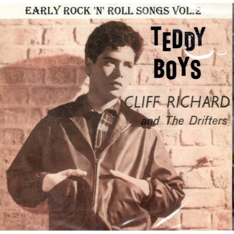 CLIFF RICHARD (AND THE DRIFTERS) - EARLY ROCK 'N' ROLL SONGS VOL 2 (France) - CD