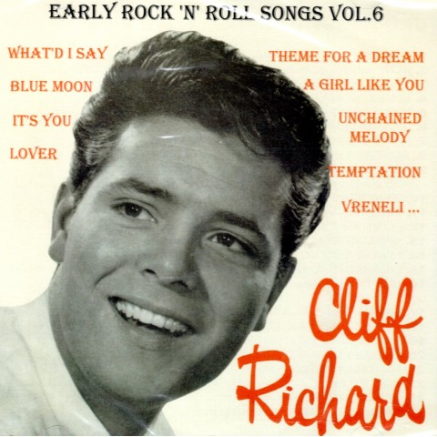 CLIFF RICHARD AND THE SHADOWS - EARLY ROCK 'N' ROLL SONGS VOL 6 CD