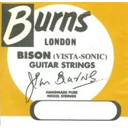 GUITAR STRINGS - BURNS -  .012 -.052 WOUND 3RD
