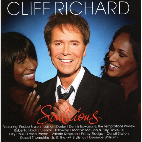 CLIFF RICHARD AND GUESTS - SOULICIOUS (THE SOUL ALBUM) - CD