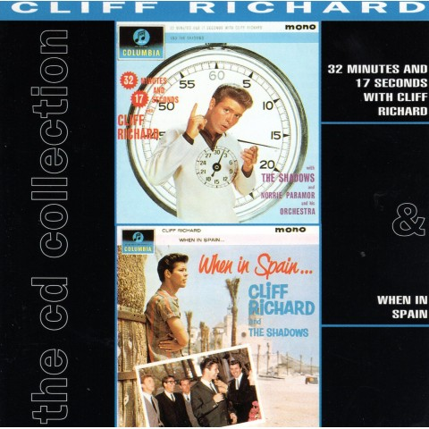 CLIFF RICHARD - 32 MINUTES - WHEN IN SPAIN - 2CD