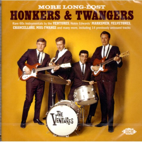 MORE LONG LOST HONKERS AND TWANGERS - CD