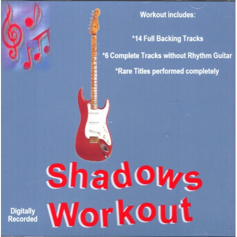 IAN MCCUTCHEON - SHADOWS WORKOUT 1- BACKING TRACK - CD