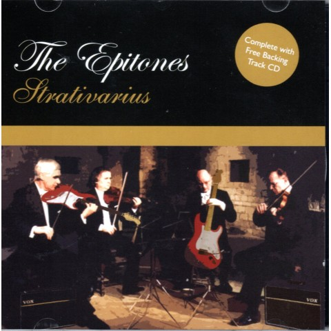THE EPITONES - STRATIVARIUS - BACKING TRACK 2CD