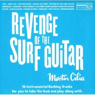 MARTIN CILIA - REVENGE OF SURF GUITAR - BACKING TRACK CD - IMPORT