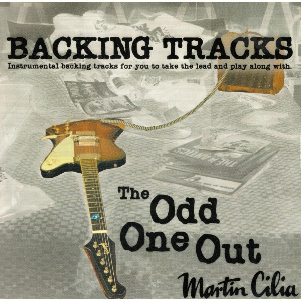 MARTIN CILIA - ODD ONE OUT - BACKING TRACK - CD