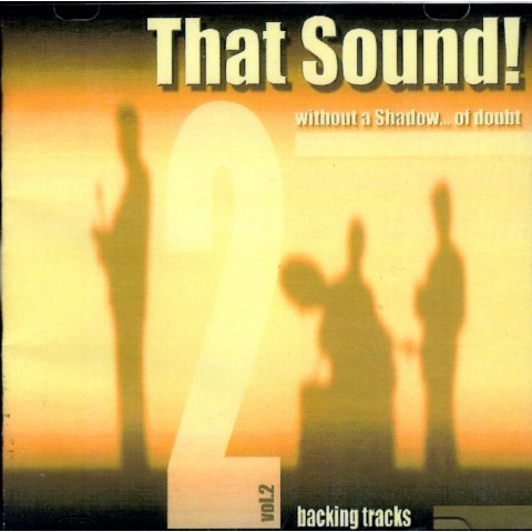 THAT SOUND - WITHOUT A SHADOW OF DOUBT - VOL 2 - MAURIZIO MAZZINI - Backing Track CD