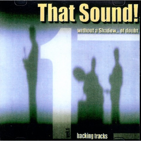THAT SOUND - WITHOUT A SHADOW OF DOUBT - VOL 1 - MAURIZIO MAZZINI - Backing Track CD