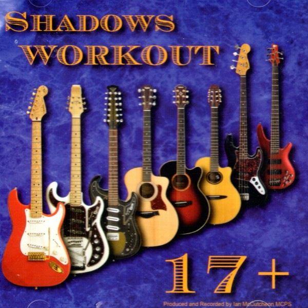 BACKING TRACK CD - IAN MCCUTCHEON - SHADOWS WORKOUT 17+