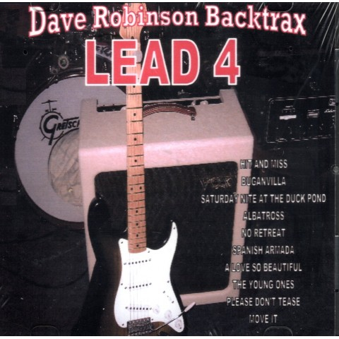 DAVE 'ROBBO' ROBINSON - LEAD 4 - Backing Track CD