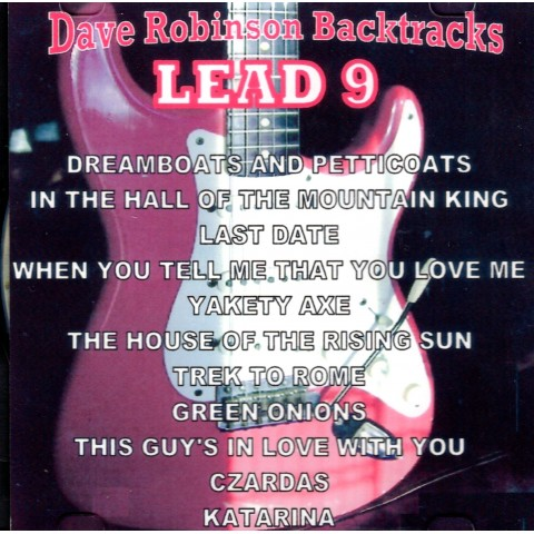 DAVE 'ROBBO' ROBINSON - LEAD 9 - Backing Track CD