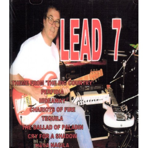 DAVE ' ROBBO'  ROBINSON - LEAD 7 - Backing Track CD