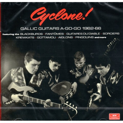 CYCLONE - GALLIC GUITARS A-GO GO -62 - 66 - CD