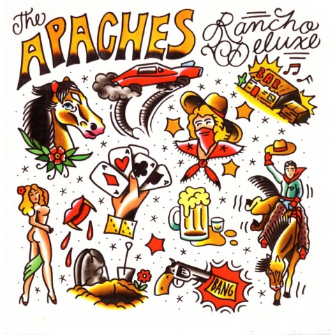 THE APACHES - RANCHERO DELUXE - CD - IMPORT