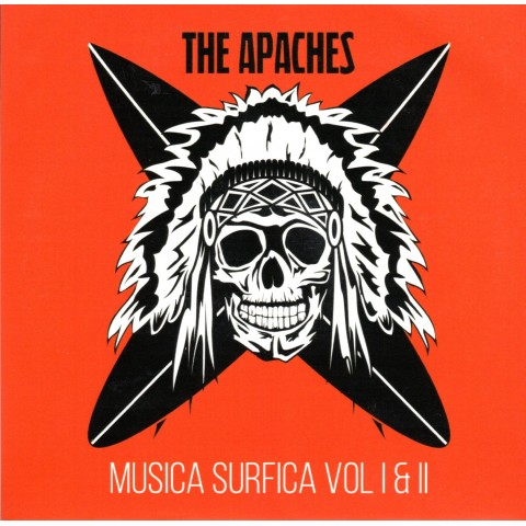 THE APACHES - MUSICA SURFICA VOL 1 AND 2 - CD - IMPORT