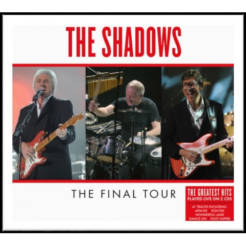 THE SHADOWS - FINAL TOUR LIVE - 2CD 2020 ISSUE