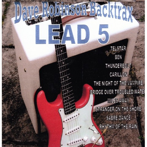 DAVE 'ROBBO' ROBINSON - LEAD 5 - Backing Track CD