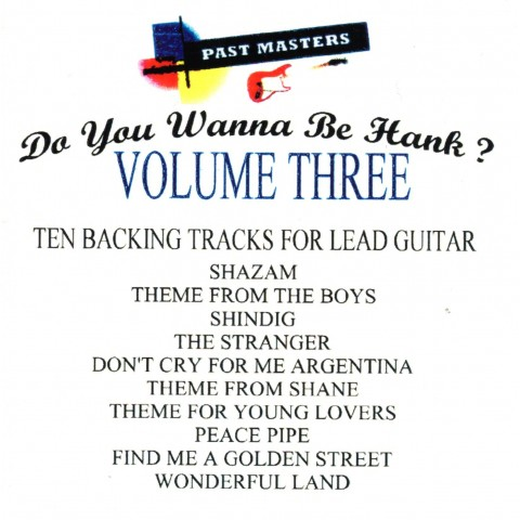 DAVE 'ROBBO' ROBINSON - PAST MASTERS VOL.3 - Backing Track CD