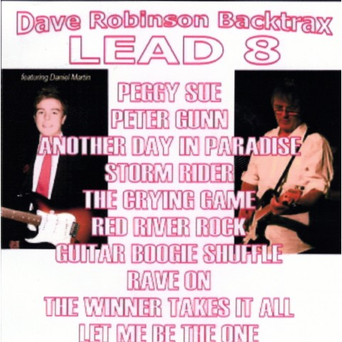 DAVE 'ROBBO' ROBINSON - LEAD 8 - Backing Track CD
